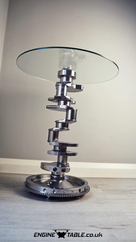 crankshaft side table  engine table uk