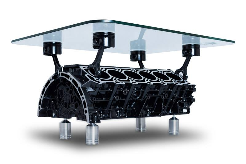 Mercedes V12 Engine Table Product