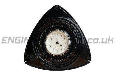 MAZDA RX8 192 GLOSS BLACK ROTOR CLOCK