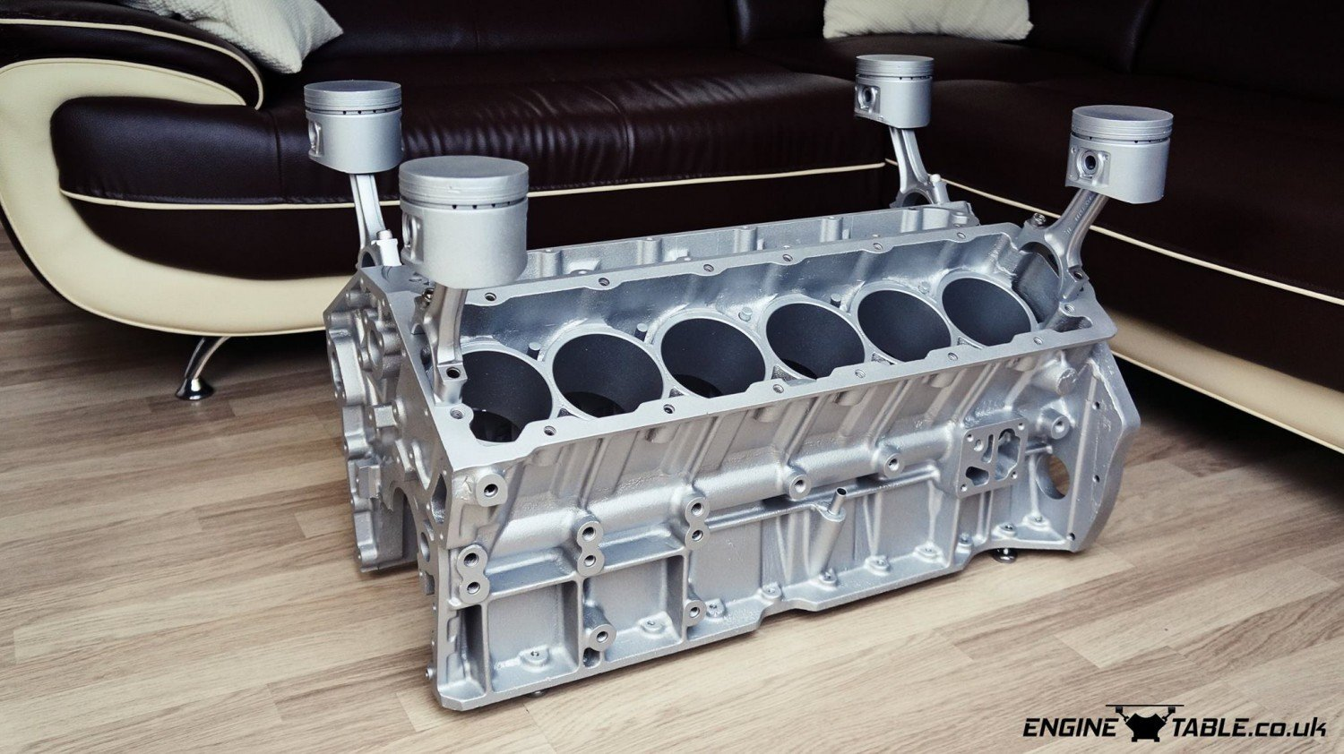 Jaguar V12 Engine Coffee Table By Engine Table Uk