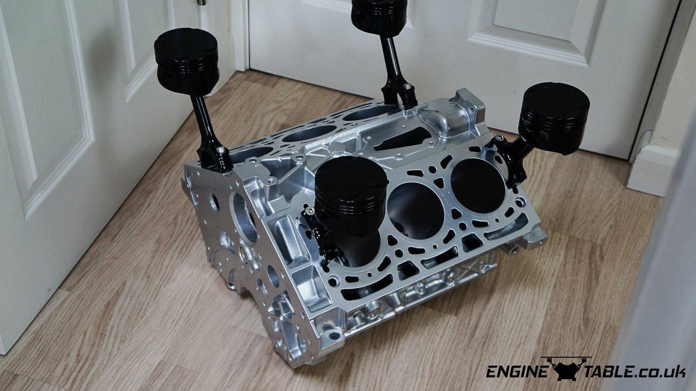V6 Engine Coffee Table