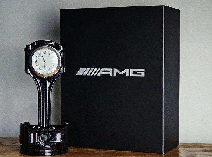 Piston Clock AMG