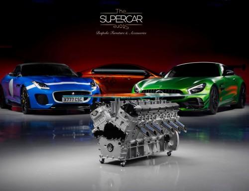 """Jaguar V12 """"Symphony"""" Engine Table"""